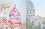 Vatican City Watercolor Transfomation