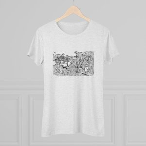 Whimsical Village Women's Triblend Tee