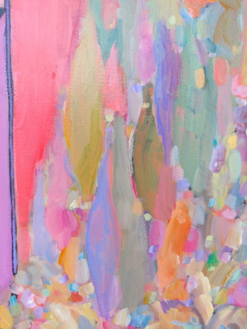 Alberta Grain Elevator acrylic painting by Aeris Osborne