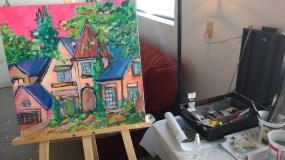 Thankful October – Artist In Residence – YEG Old House