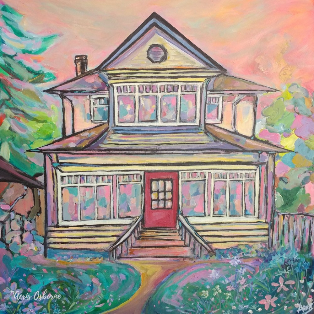 Foursquare House Portrait Aeris Osborne
