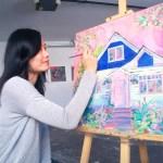Alberta Avenue Craftsman House Painting Aeris Osborne Studio