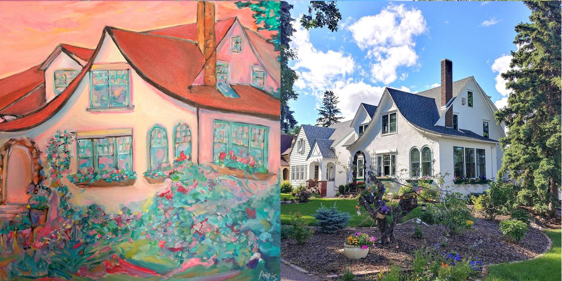 Garneau Cottage House Side By Side Aeris Osborne