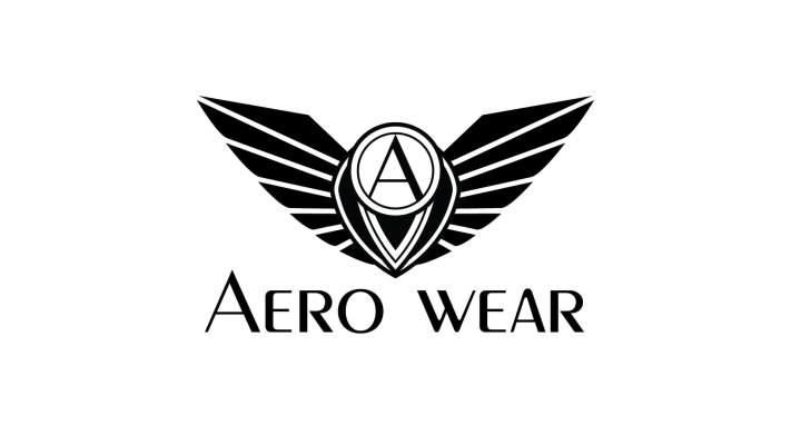 Aero Wear Logo - Black
