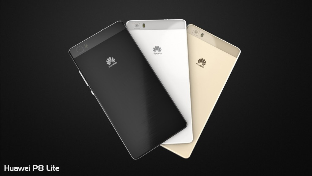 Huawei P8 Lite Triple Color Back View
