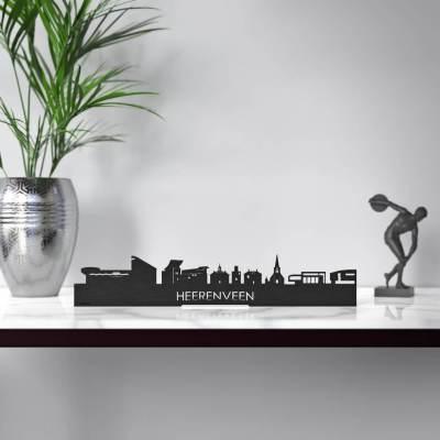 Heerenveen Skyline Black Standing Table
