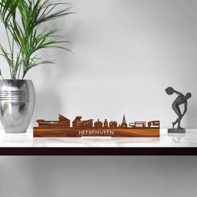 Heerenveen Skyline Rosewood Standing Table