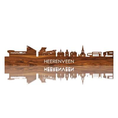 Heerenveen Skyline Rosewood Wall Front