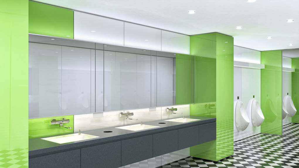 Public Buildings - Restroom Green