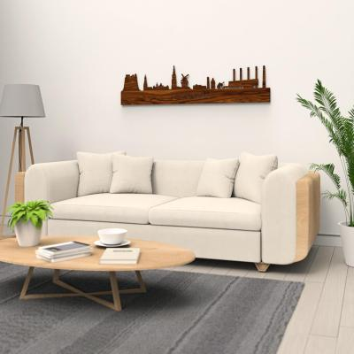 Groningen Old Skyline Rosewood Wall Couch