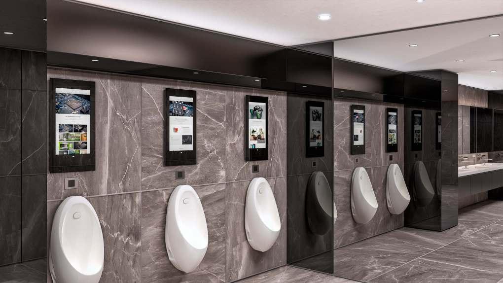 Public Buildings - Restroom Luxury Close-up