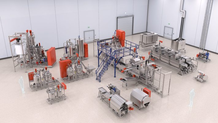 Tanis Factory Visualization - T-Gel Complete 400 Compact