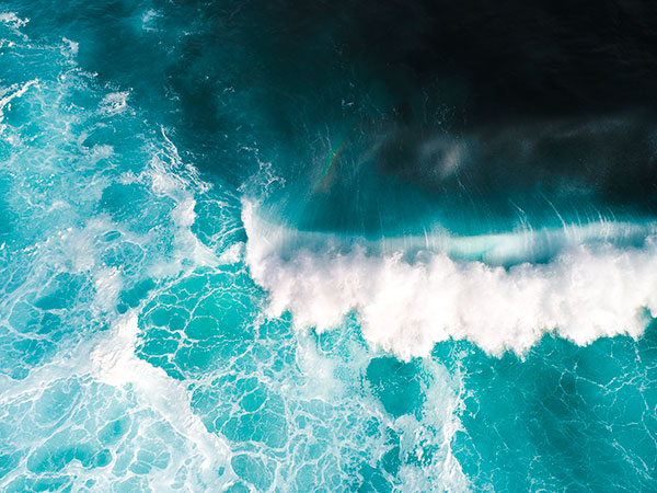 Long Reef Wave Aerial Photo Drone Photography