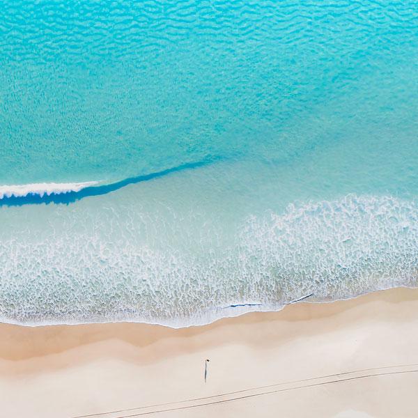 Aerial Beach Image