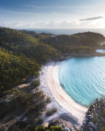 Aerial Drone of Arthur Bay, Magnetic Island