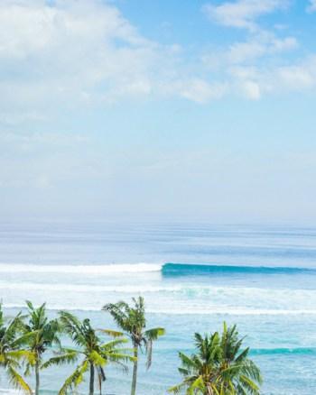 Wave Rolling Through Balangan Beach