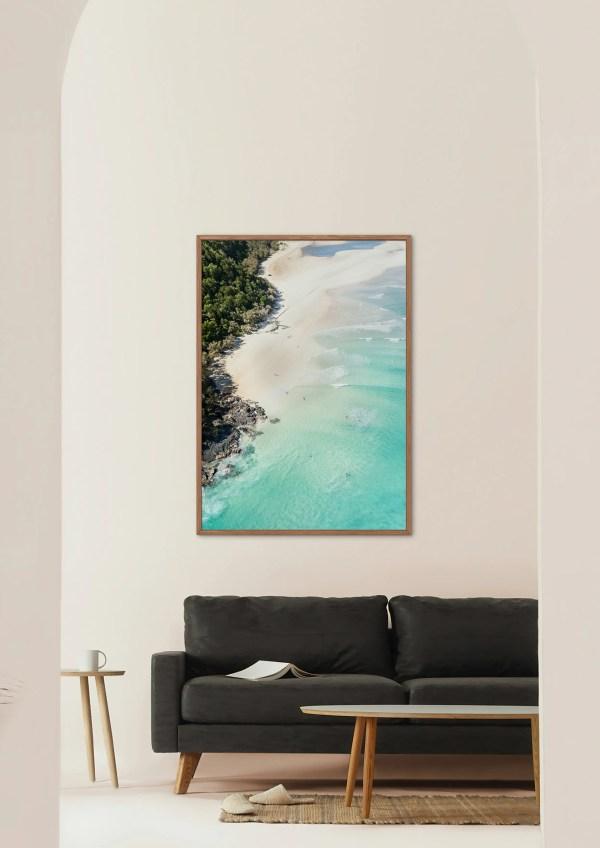 Sunshine Coast Wall Art Print