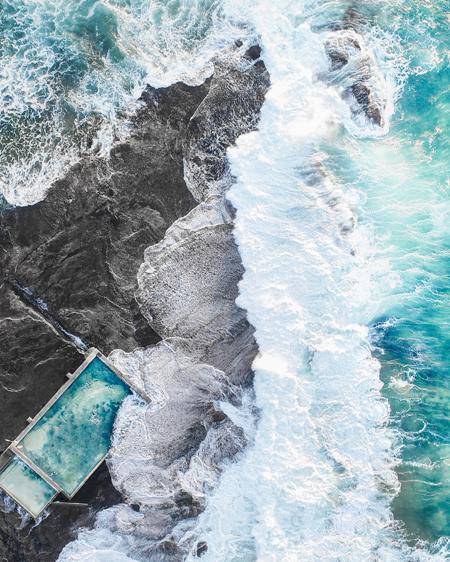 Drone Of Mona Vale Ocean Pool