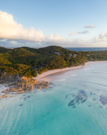 Aerial Of The Pass Byron Bay