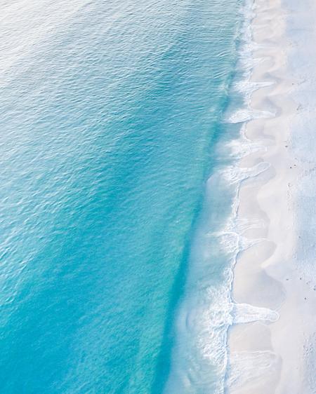 Hyams Beach White Sands Aerial