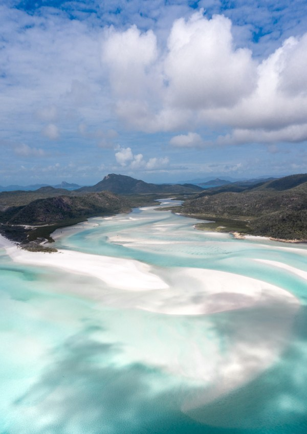 Aerial Of Whitehaven Beach