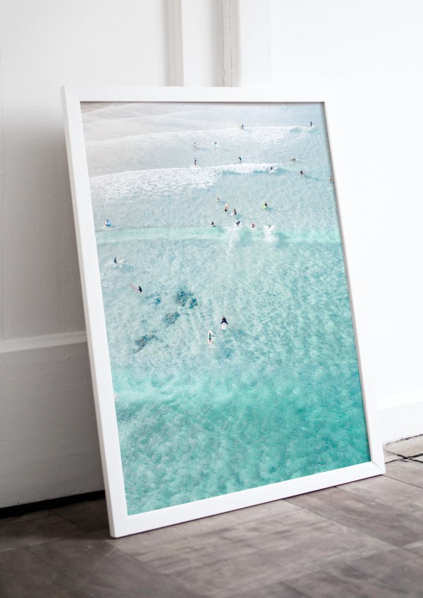 The Pass Byron Bay Drone Photography Print