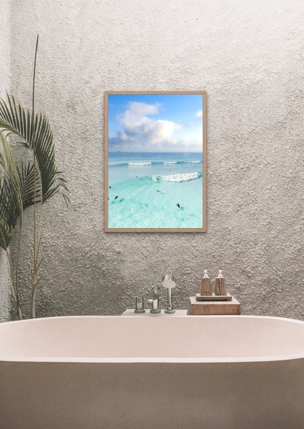 Turquoise Ocean Photography Print