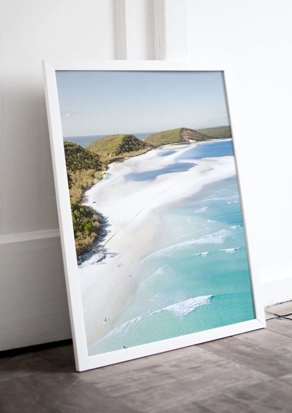 Double Island Point Sunshine Coast Wall Art Print