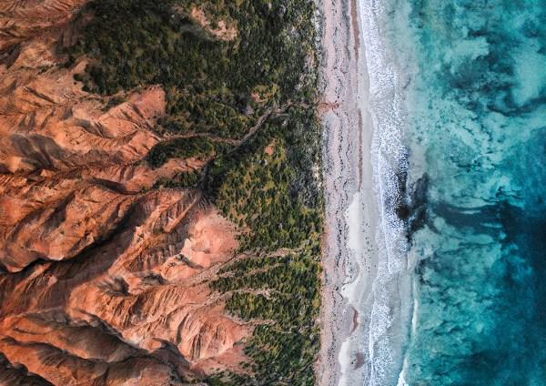 Sellicks Beach Drone Print
