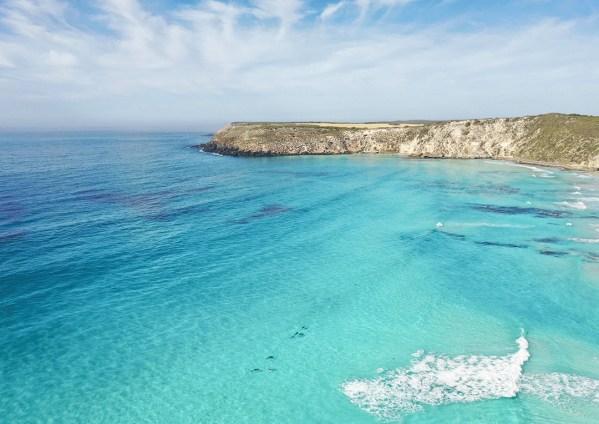 Pennington Bay Kangaroo Island Aerial Photography Print