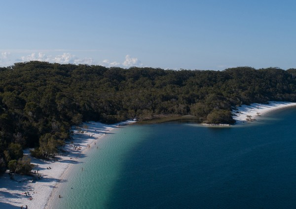 Lake McKenzie Fraser Island Aerial Print