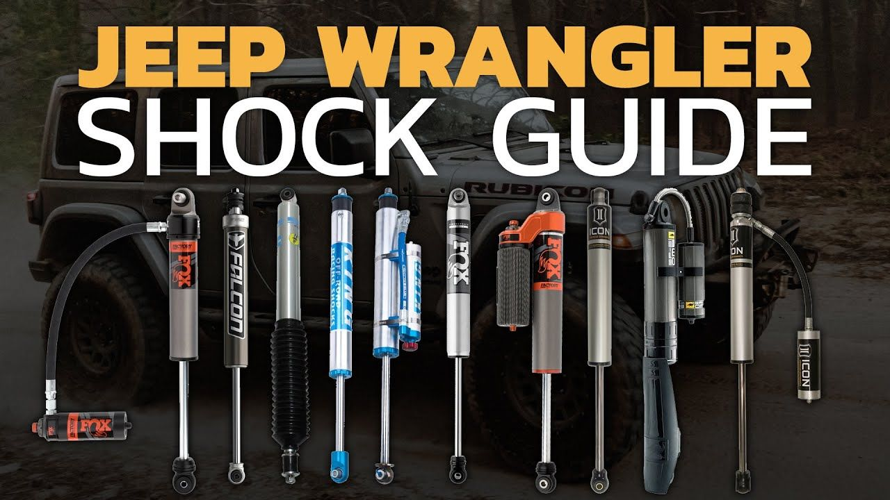 best jeep shocks for daily driver