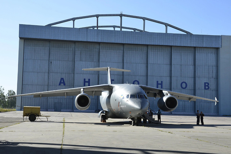 Antonov has released first aircraft without Russian parts