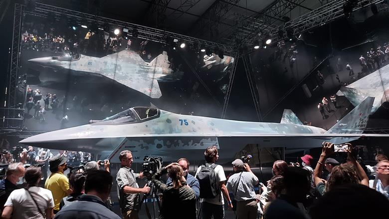 Russia unveils Sukhoi Checkmate (Su-75) low cost, high performance new light fighter jet