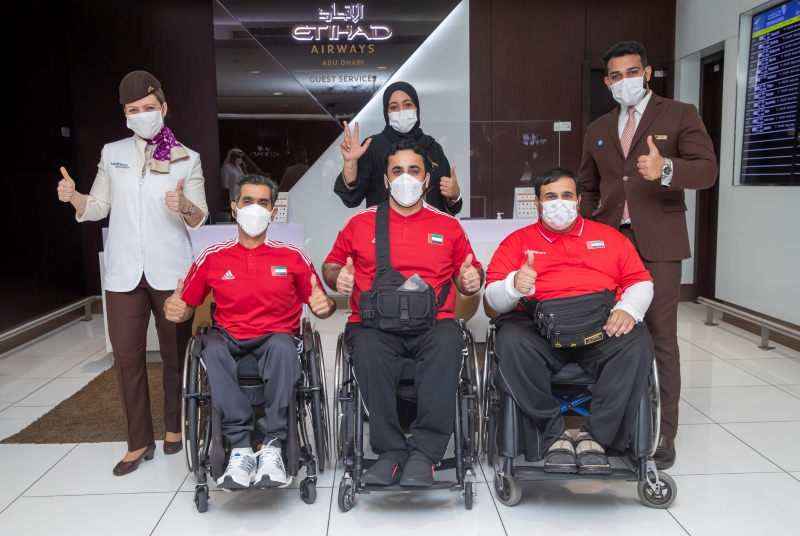 TEAM UAE FLY FOR GOLD WITH ETIHAD