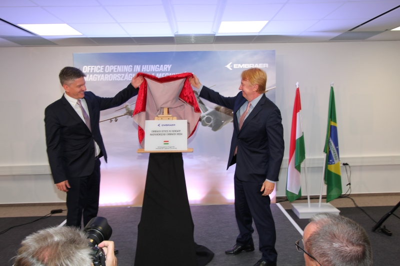 Embraer Opens an Office in Hungary
