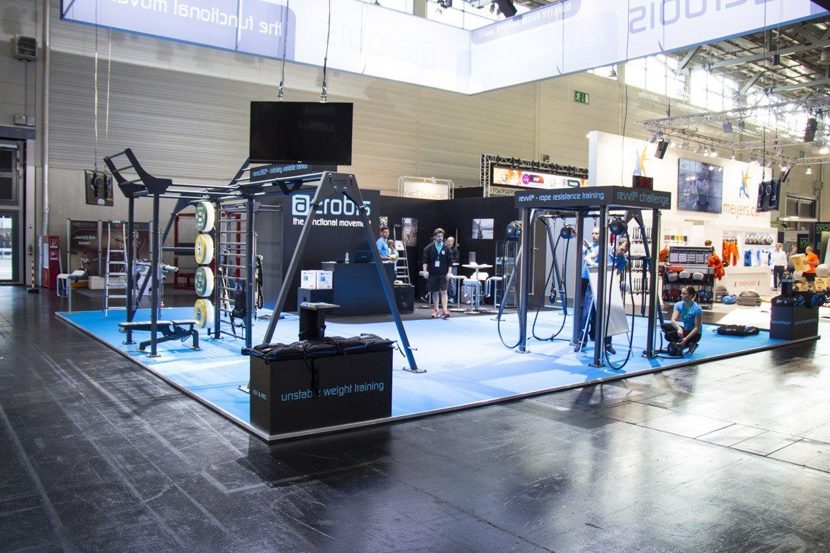 The aerobis stand at the FIBO 2015