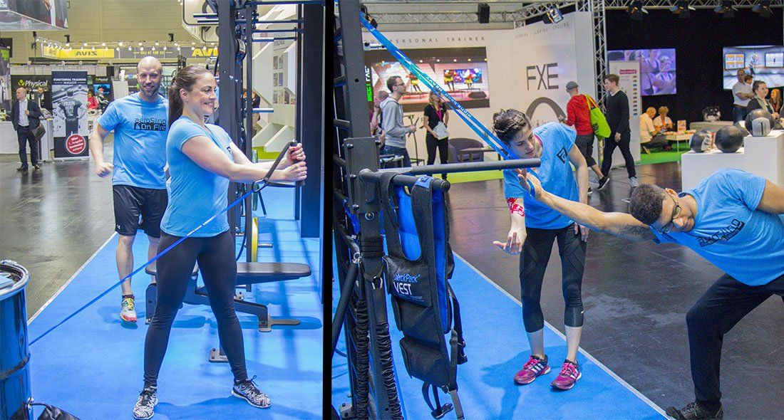 alpha.bands exercise examples at FIBO 2016