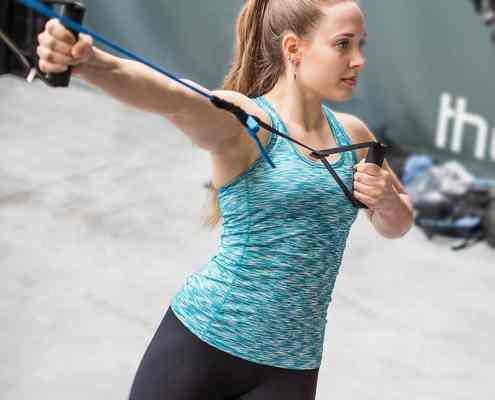 aerosling entrenador de suspensiones entrenamiento funcional mujer gimnasio