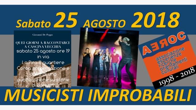 Musicisti Improbabili 25 agosto