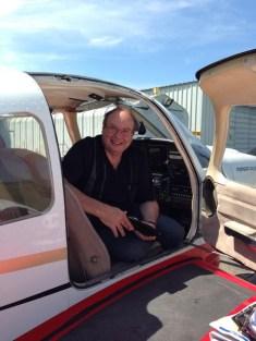 Check arrivée : pilote content