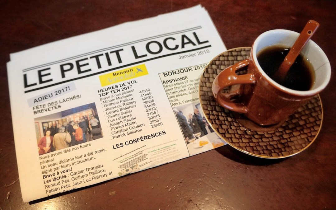 Le Petit Local – Octobre 2018