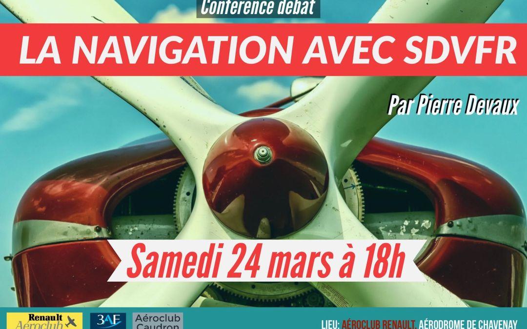 Les Conférences de l'ACR – La Navigation avec SDVFR