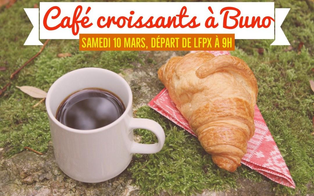 Samedi 10 Mars : Café / Croissants à Buno Bonnevaux