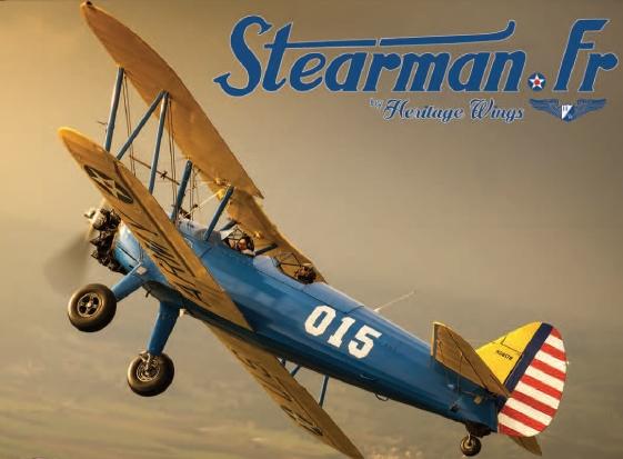 Les Flashs de l'ACR – Un avion Stearman à Chavenay