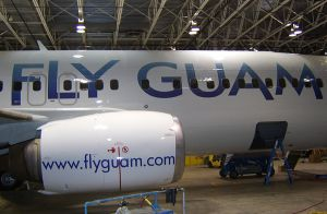 Fly Guam Decals