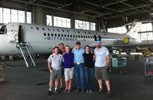 Mitt Romney's Airplane