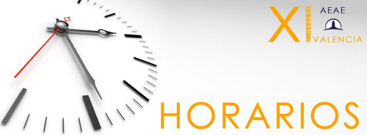 XI Congreso Horario Cabecera