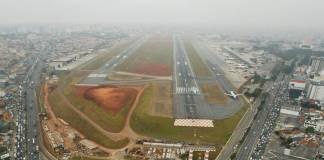 Aeroporto de Congonhas pista