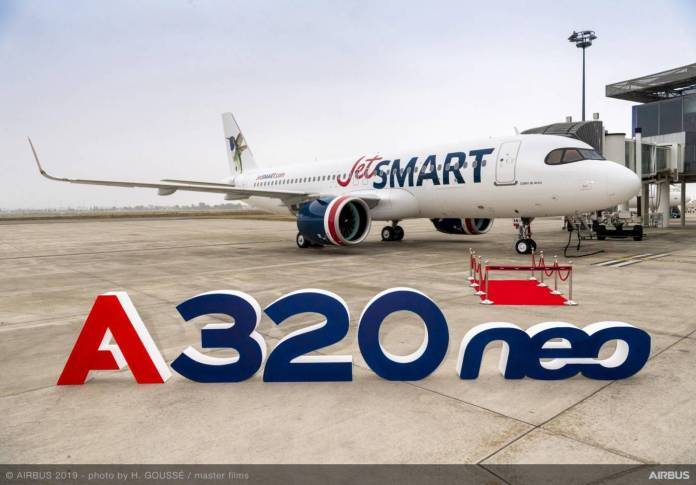 JetSmart Chile Airbus A320neo